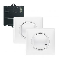 Image Pack prêt-a-connecter créer un va&vient -1 micromod+2 cdes ss fil celiane blanc