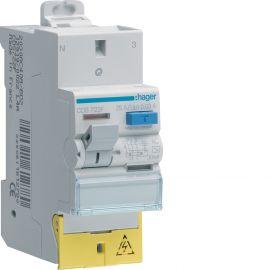 Image Interrupteur différentiel 2p 25a 30ma type ac à bornes décalées sanvis