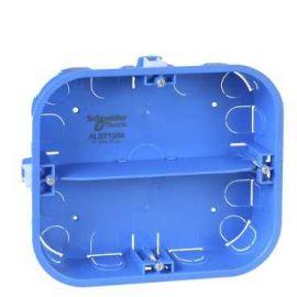 Image Multifix - boîte - 6 postes - 165x142mm - prof. 40mm - 2 rangées de 3 postes