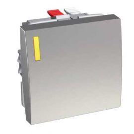 Image Altira - interrupteur va-et-vient lumineux - aluminium