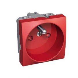Image Altira - prise de courant 2p+t 90° - à vis standard - détromp. mécanique - rouge