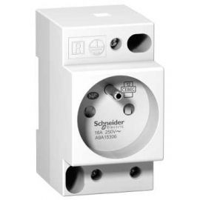 Image Prise de courant modulaire 16a 2p+t standard français 250v