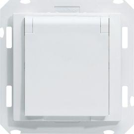 Image Kallysta prise d'aspiration centralisée avec contact blanc