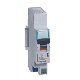 Image Dnx3 disjoncteur 1p+ng c20 4500a/6ka auto