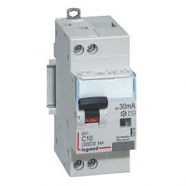Image Dx3 disj differentiel 1p+ng c 10a 4500a/ 6ka ac 30ma 2 modules
