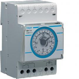 Image Interrupteur horaire électromécanique 1 voie sur 24 heures avec réserve
