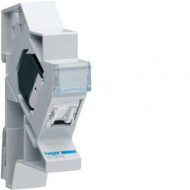 Image Connecteur rj45 catégorie 5e pour grade 1 + support modulaire