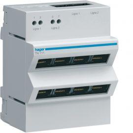 Image Répartiteur téléphone analogique/rnis 2x4 sorties rj45