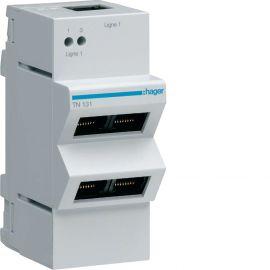 Image Répartiteur téléphone analogique/rnis 4 sorties rj45