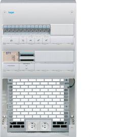 Image Coffret de communication vdi semi-équipé 2 rangées-36 modules +platine, grade 3