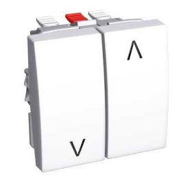 Image Altira - interrupteur volets-roulants 16 a - blanc polaire