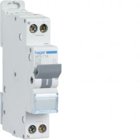 Image Disjoncteur 1p+n 3ka c-25a 1 module
