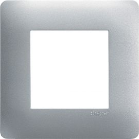 Image Essensya plaque 1 poste titane