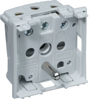 Image Systo prise de courant 2p+t 16a 250v à vis 2 modules blanc