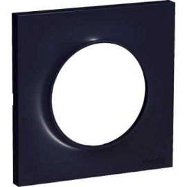 Image Odace styl, plaque anthracite 1 poste