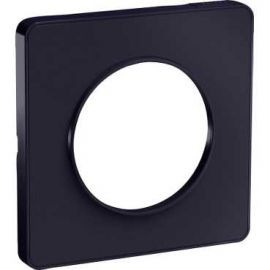 Image Odace touch, plaque anthracite 1 poste